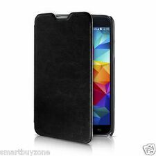 Pudini® Original Luxury Vintage Leather Flip Cover Case for Samsung Galaxy S5