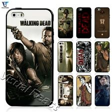 Hybrid TPU+PC Cover The Walking Dead Rick Daryl Zombie For Iphone & Samsung Case