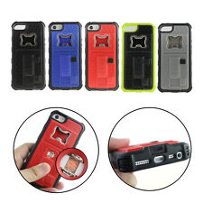 Creative Bottle Opener Cigarette Lighter Hard Back Case Cover For iPhone 5 5G 5S