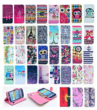 Vintage Stand Flip Wallet Leather Hybrid Case Cover For Samsung Galaxy