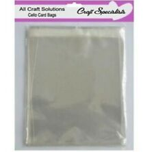 Top Quality A6/C6 Cello Greeting Card Bags Self Seal Many Quantites Available