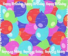 Happy Birthday ~ Frosting Sheet Cake Topper ~ Edible Image ~ D3218
