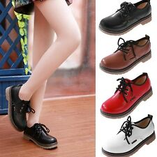 New Retro England Style Women's Lace Up Flats Round-toe Punk Fashion shoes  NX84