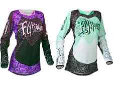 Fly Racing Kinetic Women's Girl's Lady's Riding Jersey Motocross MX ATV Gear