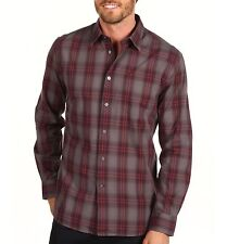 JOHN VARVATOS STAR USA - more sizes - LS Fog Patch Pocket Shirt $168 msrp - NWT