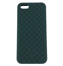 """Man IPhone Case 5 Gucci Rubber Color Green Logo """"GG"""" NEW COLLECTION"""