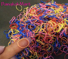 1000/2000pcs Ponytail Hair Rubber bands wholesale Hair small girl dog doll