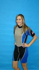 Wetsuit 3MM Female shorty Style size Medium to XL Plus Size 8814Gray Only $39.99