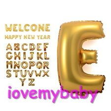 "1 Piece 16"" Foil Number 0-9 Letter A-Z Ballon Party Birthday Wedding Decoration"