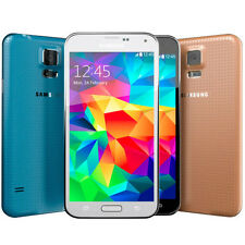 Samsung Galaxy S5 SM-G900A (4G FACTORY UNLOCKED) Black White Gold (B)
