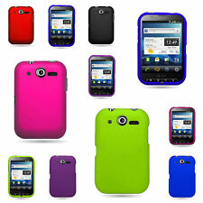 For Pantech Pocket Colorful Hard Snap On Matte Rubberized Coating Cover Case
