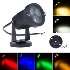 9W LED Waterproof Outdoor Spot Light Garden Yard Wall Landscape Path Lighting
