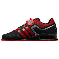 Adidas Adipower Weightlift Black/Light Scarlet Shoes M21865 Sz 5-13