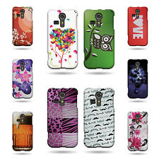 Hard Rubber Plastic Snap On Design Phone Cover Case For Kyocera Hydro Vibe