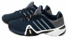 Adidas Adipower Barricade 8+ Mens Tennis Shoe Blue/Silver/Black M25341 sz 8-13