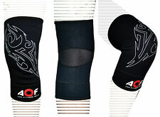 AQF Neoprene Brace Knee Support MMA Pad Guard Protector Gel Sports Work Foam Cap