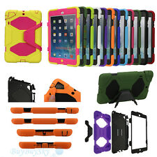 Waterproof Survivor Shockproof Military Duty Hard Case For iPad Mini1/2 2/3/4/5