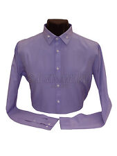 Mens Designer Lilac Colour Stylish Casual formal Party Wear shirt