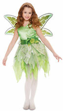 Tinkerbell Fairy Deluxe Child Costume Dress Princess Fairy Peter Pan Halloween