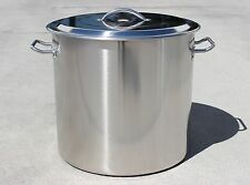 CONCORD Home Brew Stainless Steel Stock Pot Kettle w/ Lid. Brewing Gear Cookware