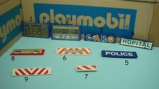 City life construction ranch Playmobil police hospital sign highway PICK one 158