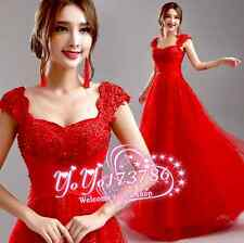 The bride, bridesmaid dress red lace dance party formal occasions, cocktail dres