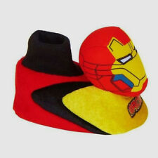 Iron Man 3 Sock Top Slippers, Toddler Boy's size 5/6,7/8,9/10, New w/Tag!