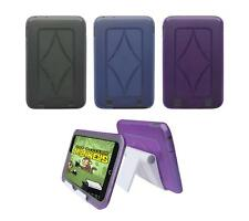 View Stand Holder + TPU Gel Skin Case Cover for Barnes & Noble Nook HD 7 Tablet
