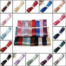 Double Sided Faced Satin Ribbon Crafts 3mm 6mm 6mm 9mm 16mm 25mm,Various Colours