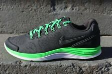 NIKE LUNARGLIDE 4 EXT 554957-031 ANTHRACITE/POISON GREEN/WNITE US MEN'S