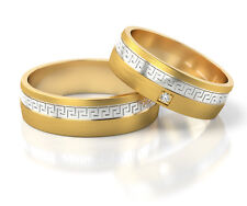 Wedding rings, price for two rings, 50 years warranty 5395