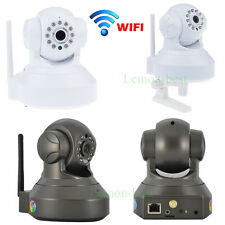 1.0MP 720p Wireless Pan/Tilt Network IP Camera WiFi HD IR CCTV Security Webcam