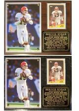 Bernie Kosar #19 Cleveland Browns 1985-96 Photo Card Plaque