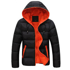 HOT 2014 Fashion New Winter Warm Hoodies Mens Down Slim Down Jacket Winter Coats