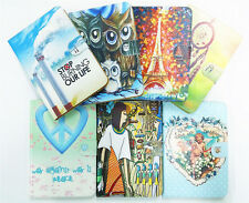 "Magnetic Flip Folio Leather Card Holder Cover TPU Stand Case For 7-10.1"" Tablet"