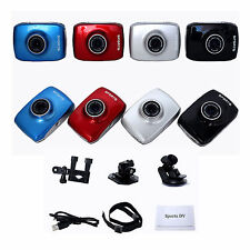 HD 1080P Touch Panel 4xZoom Sports Action DV Video Camera Camcorder Waterproof