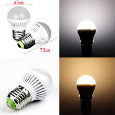 1PCS 3W E27 LED Globe Bulb Light Lamp Bright Day/Cool/Warm White 110/220V