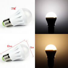 1PCS 7W E27 LED Globe Bulb Light Lamp Bright Day/Cool/Warm White 110/220V