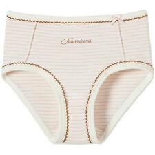 Schiesser Tausendsassa Girls Panties Hip Briefs Creamy Pink Striped New