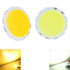 10W 1.88in Round COB Super Bright LED SMD Chip Bulb Lamp Light Pure/Warm White