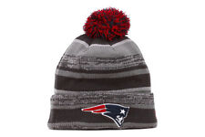 New Era Sport Knit NFL New England Patriots Men Women Kids Gray Blue Red Beanie