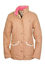 Toggi Faye Ladies Diamond Quilt Jacket Beige