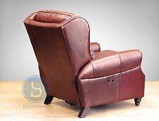 Barcalounger Treyburn II Power Recline Recliner Chair - Savannah Whiskey Leather
