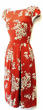 New Ditsy Floral WWII 1930's/40's Vintage style Land Girl Swing Tea Dress