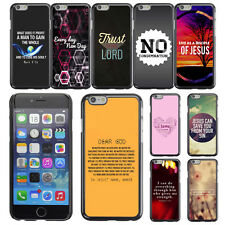 "Bible Verse Message For Apple iPhone 6 4.7"" inch Case Plastic Hard Phone Cover"