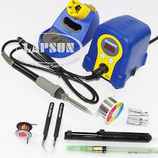 HAKIO FX-888D 70W Electronic Digital LCD Soldering Station Iron Phone SMD Repair