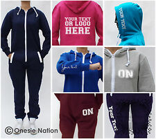 Adult/Mens/Ladies Custom Printed Personalised Onesie/All in One piece S M L XL