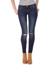 aeropostale womens destroyed dark wash jegging
