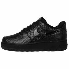 Nike Wmns Air Force 1 07 PRM Black Crocs 2014 Womens Casual Shoes AF1 Sneakers