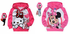 Baby Kids Girl Toddlers Hoodies Tracksuit Children Clothing Set Suits 1-7Y
